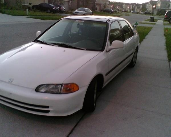 93 honda civic si hatchback specs