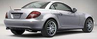 2009 Mercedes-Benz SLK-Class, SLK 300 Back Right Quarter View, exterior, manufacturer