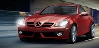 2009 Mercedes-Benz SLK-Class, SLK 300 Front Right Quarter View, exterior, manufacturer