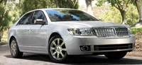 2009 Lincoln MKZ, Front Right Quarter View, exterior, manufacturer