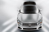 2009 Nissan Maxima, Front Overhead View, exterior, manufacturer
