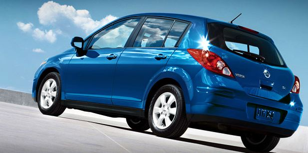 nissan versa 2009. 2009 Nissan Versa