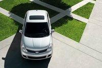 2009 Nissan Versa, Overhead View, exterior, manufacturer