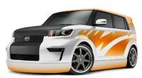 2009 Scion xB, Front Left Quarter View, exterior, manufacturer