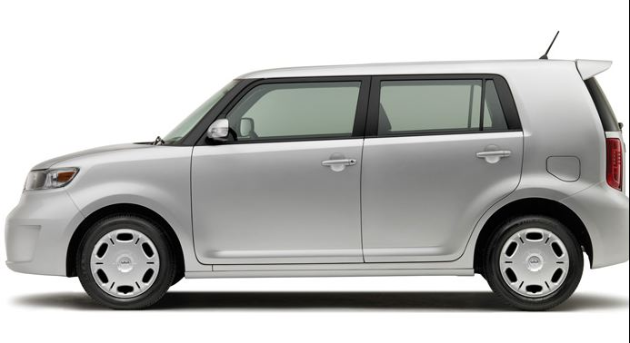 2009 Scion xB, Left Side View, manufacturer, exterior