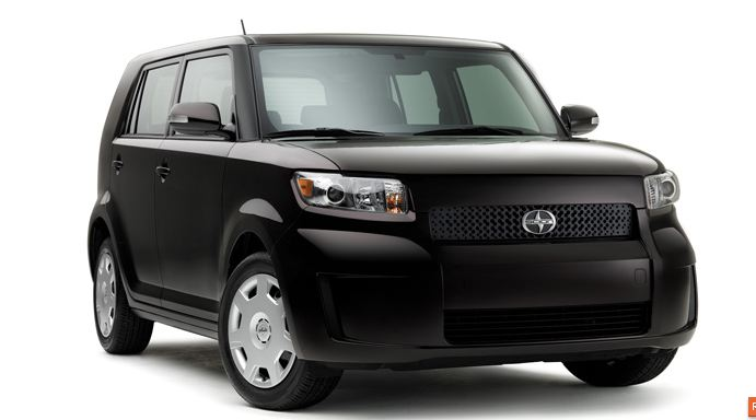 2009 Scion xB, Right Front Quarter View, exterior, manufacturer