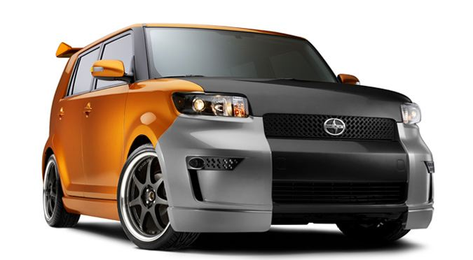 2009 Scion xB, Right Front Quarter, manufacturer, exterior