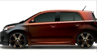 2009 Scion xD, Left Side Modified View, manufacturer, exterior