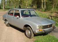 1976 Peugeot 504 Overview
