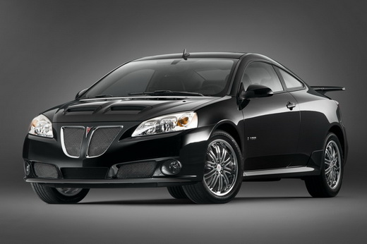 2009 Pontiac G6 Black Wallpaper