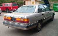 1984 Audi 5000 Overview