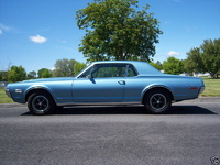 1968 Mercury Cougar, 25000 original miles and sweet.  Purchased July 21 2008 and all original unmolested., exterior