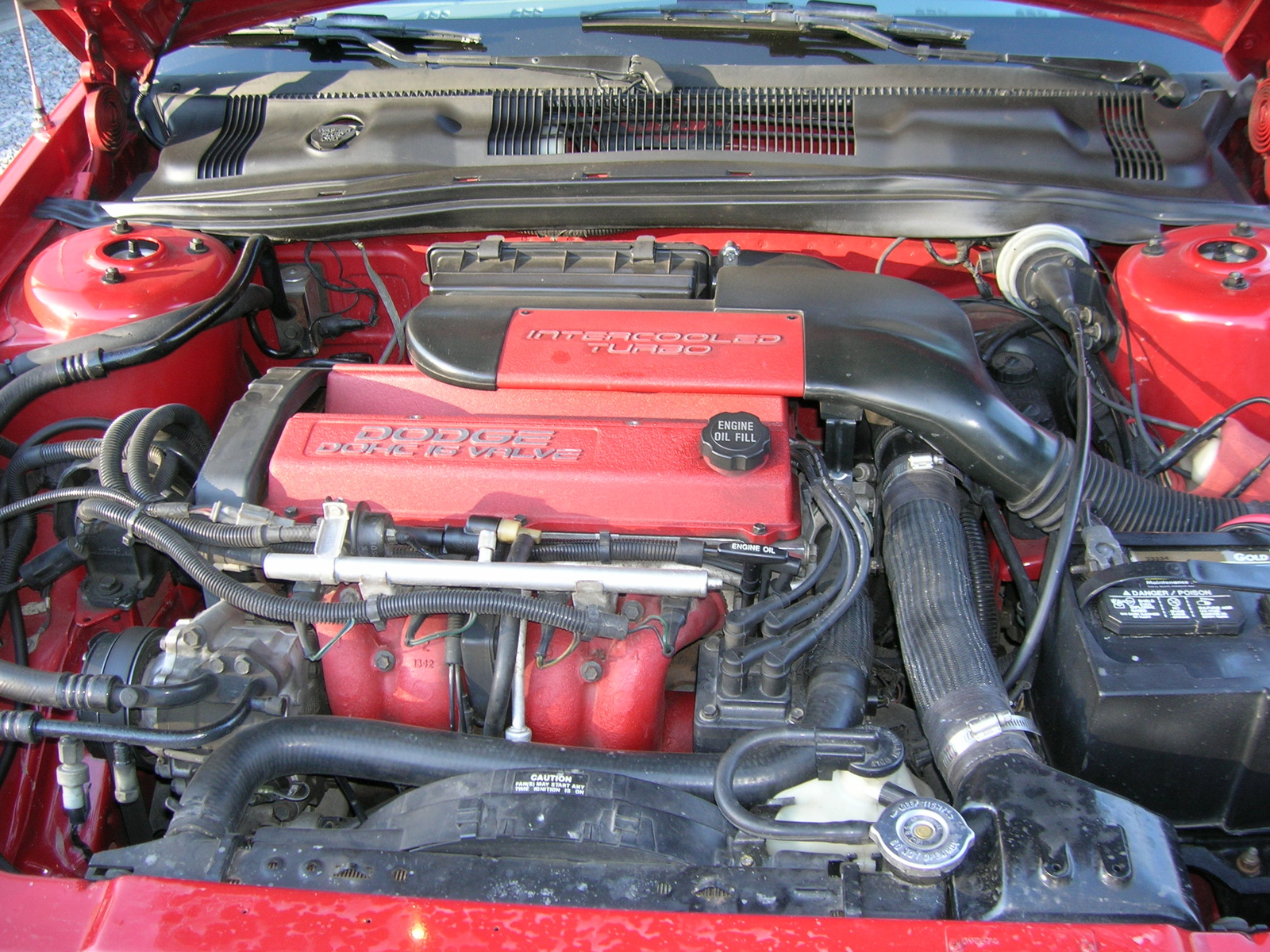 1991 Dodge Spirit RT Turbo related infomationspecifications