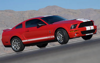 Picture of 2009 Ford Shelby GT500 Coupe, exterior, manufacturer