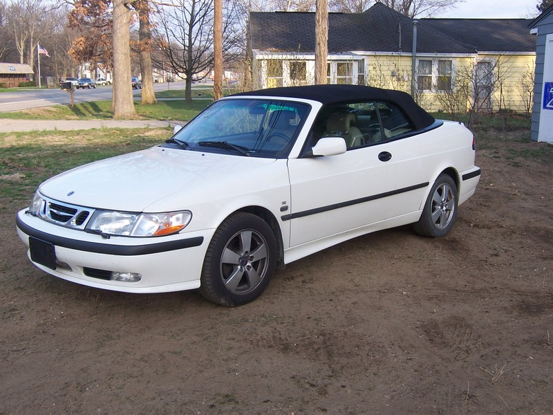 1999 Saab 9-3 2 Dr Turbo Convertible picture, exterior