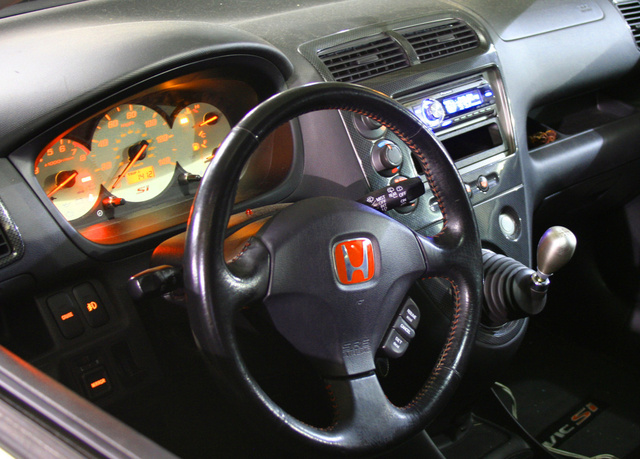 Charming Picture Of 2002 Honda Civic Coupe Si Hatchback, Interior, Gallery_worthy