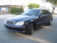 2000 Mercedes-Benz S-Class 4 Dr S500 Sedan, 2000 Mercedes-Benz S500 picture, exterior