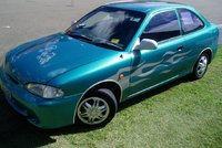 1995 Hyundai Accent Overview