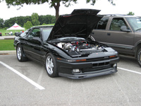 1987 Toyota Supra 2 dr liftback turbo picture, engine