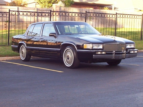 Picture of 1990 Cadillac DeVille Sedan FWD, exterior, gallery_worthy