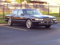 1990 Cadillac DeVille Base Sedan, 1990 Cadillac DeVille 4 Dr STD Sedan picture, exterior