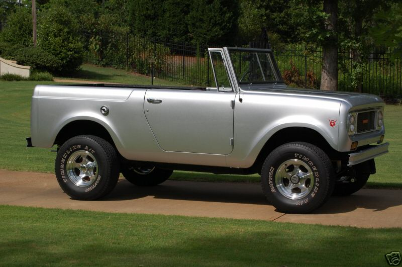 1968 International Harvester Scout Overview C13939on 1964 International Scout