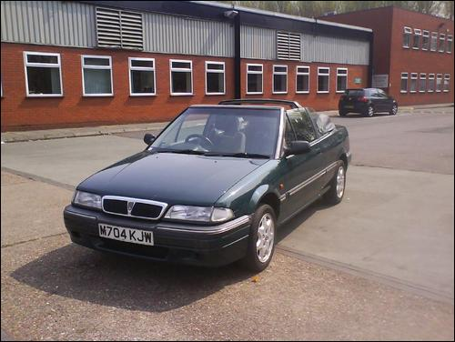 1995 Rover 200 picture, exterior