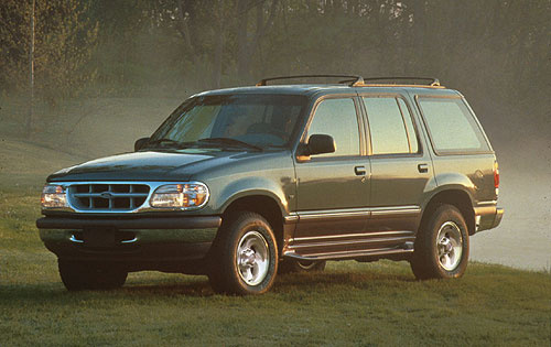 Picture of 1996 Ford Explorer 4 Dr Eddie Bauer SUV, exterior