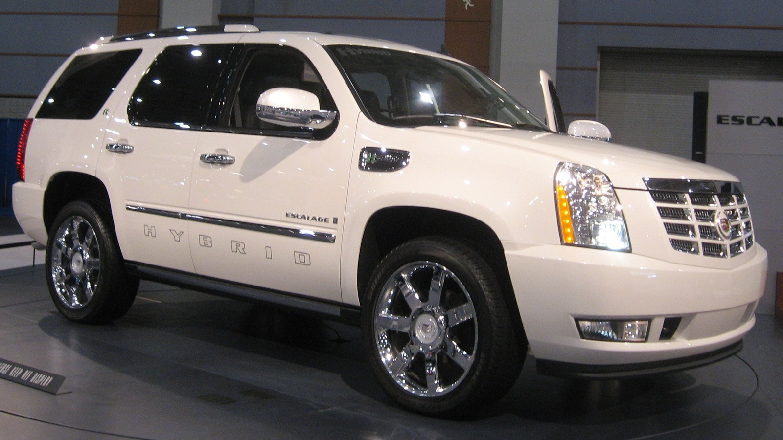 picture of 2009 cadillac escalade awd exterior. Black Bedroom Furniture Sets. Home Design Ideas