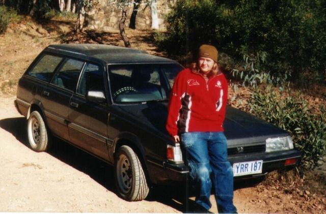 Picture of 1988 Subaru Leone, exterior
