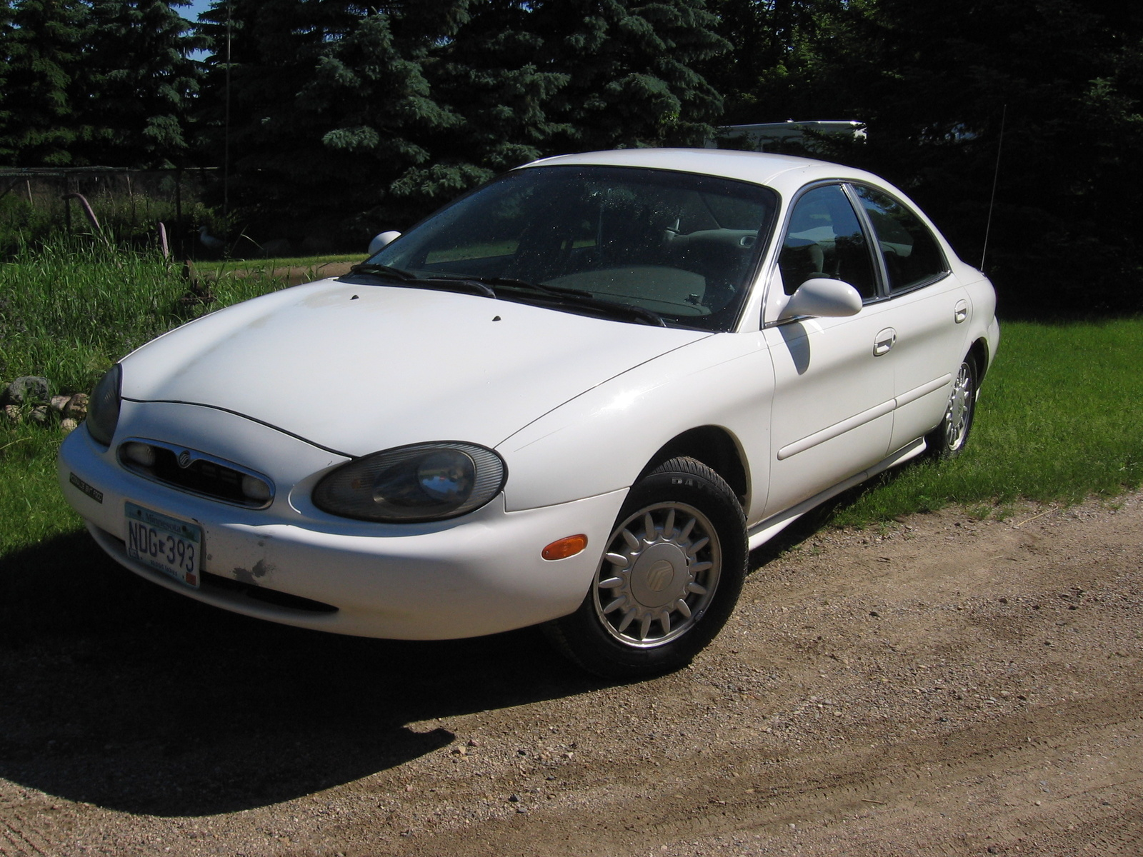 Picture of 1997 Mercury Sable 4 Dr GS Sedan