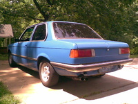 1979 BMW 3 Series, 1979 BMW 320 picture, exterior