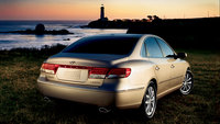 2009 Hyundai Azera, Back Right Quarter View, exterior, manufacturer