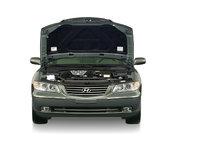 2009 Hyundai Azera, Hood Open, exterior, manufacturer