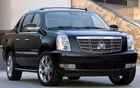 2009 Cadillac Escalade EXT, Front Right Quarter View, manufacturer, exterior