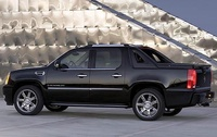 2009 Cadillac Escalade EXT, Left Side View, manufacturer, exterior