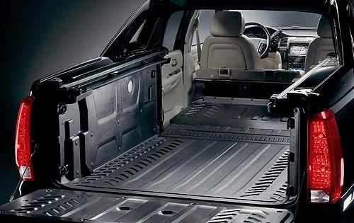 2009 Cadillac Escalade EXT, Cargo Bed, exterior, manufacturer