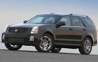 2009 Cadillac SRX, Left Side View, manufacturer, exterior