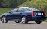 2009 Cadillac STS, Back Left Quarter View, exterior, manufacturer