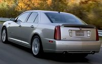 2009 Cadillac STS-V, Back Left Quarter View, exterior, manufacturer