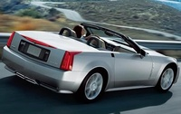 2009 Cadillac XLR, Back Right Quarter View, manufacturer, exterior