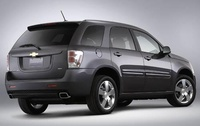2009 Chevrolet Equinox, Back Right Quarter View, manufacturer, exterior
