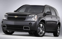 2009 Chevrolet Equinox, Front Left Quarter View, exterior, manufacturer