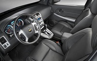 2009 Chevrolet Equinox, Interior View, manufacturer, interior