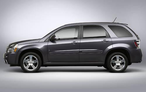 2009 Chevrolet Equinox, Left Side, manufacturer, exterior