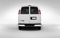 2009 Chevrolet Express, Back View, manufacturer, exterior