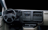 2009 Chevrolet Express, Interior Dash, interior, manufacturer