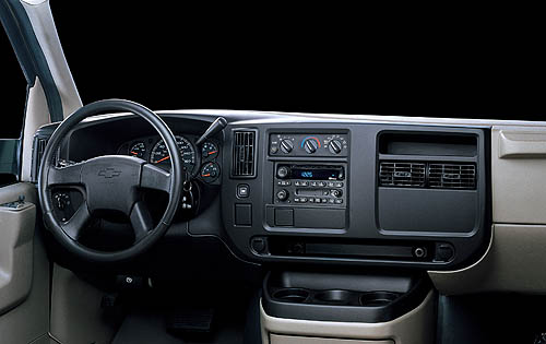 2009 Chevrolet Express, Interior Dash, manufacturer, interior