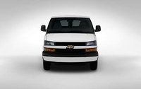 2009 Chevrolet Express, Front View, exterior, manufacturer
