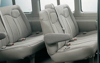 2009 Chevrolet Express, Interior Back Seat Side View, interior, manufacturer